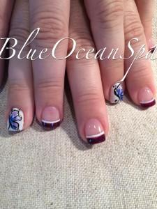 Nail Art - Blue Ocean Spa